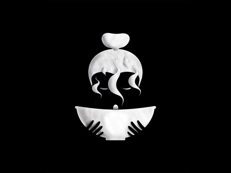 Nourish Illustration soup food illustration design