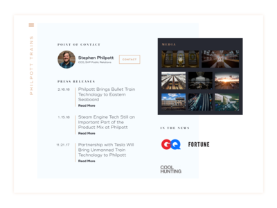 Daily Ui Day 51 Press Page