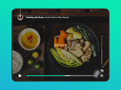 Day 57 Daily Ui Video Player