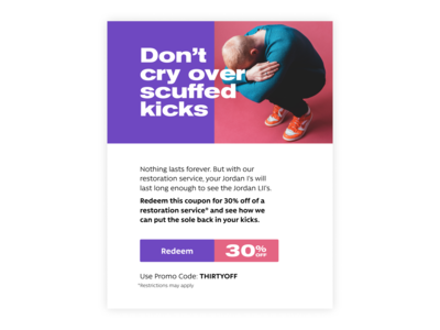 Daily Ui  Day 61  Redeem Coupon