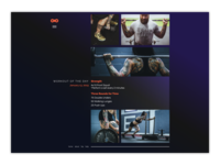 Daily Ui Day 62   Workout Of The Day