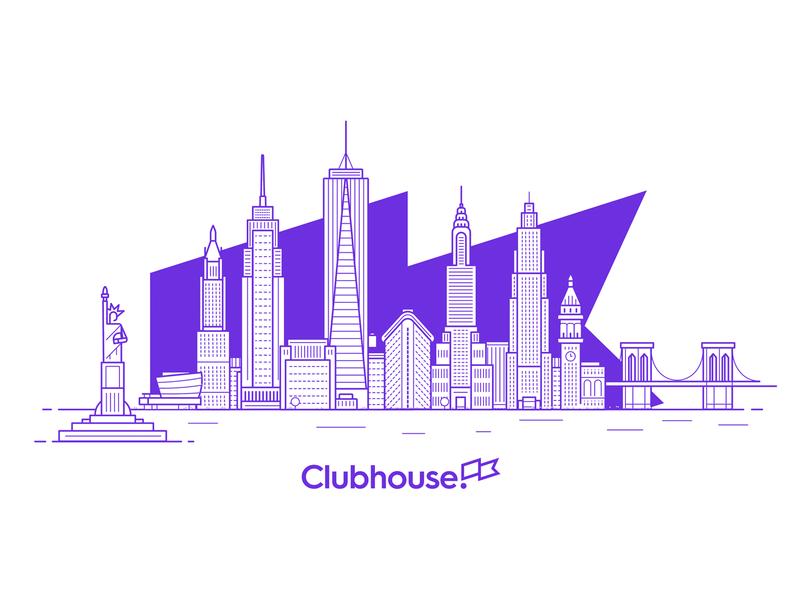 New York City new york city cityline skyscraper architecture buildings clubhouse skyline city new york