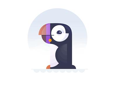 The Birds... shapes animals pelican toucan pigeon puffin flamengo parrot birds