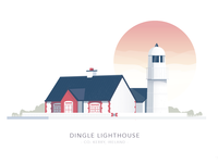Dingle Lighthouse, Kerry, Ireland house light building lighthouse kerry dingle