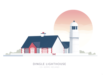Dingle Lighthouse, Kerry, Ireland house light building lighthouse kerry dingle