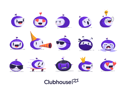 Dots World 3.0 party sad happy illustration cartoon character blob dot mascot