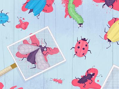 Bug Smash 💥 🐛 fly swat fly beetle ladybug bugs developer clubhouse project management bug smash smash bug