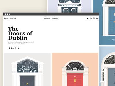 The Doors of Dublin dublin doors georgian irish ireland dublin door