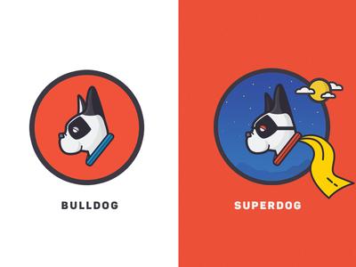 Bruno the SuperDog! superdog french bulldog illustration shading french bulldog dog