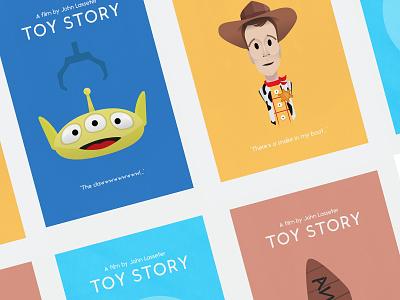 Toy Story alien woody poster buzz movie film buzz lightyear toy story