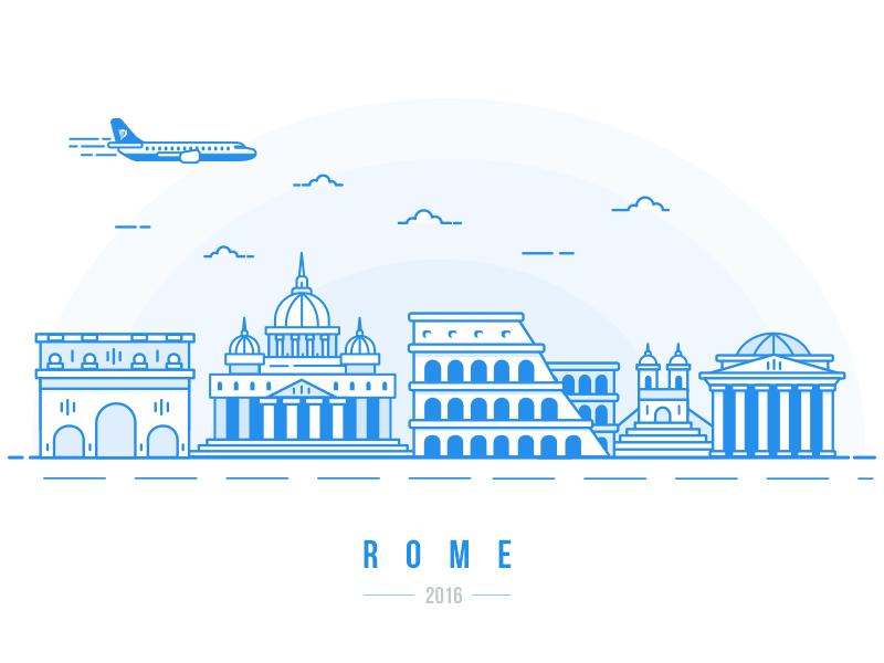 Rome dribbble