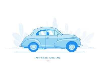 Morris Minor - 1958 morris minor dublin ireland vehicle automobile wheel drive motor vintage classic car aston martin car