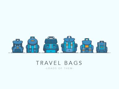 Travel Bags - Loads of Them suit case suitcase journey travel bags bag travel bag rucksack