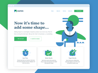 Abstraction Landing Page Exploration