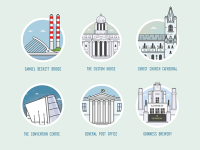 Dublin Landmarks guinness cityscape city building eire irish ireland landmarks dublin