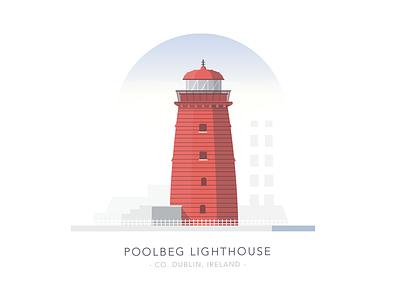 Poolbeg Lighthouse, Co. Dublin, Ireland house light building poolbeg ireland sea dublin lighthouse
