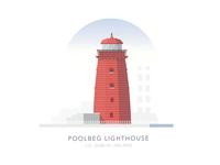 Poolbeg Lighthouse, Co. Dublin, Ireland