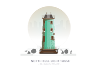 North Bull Lighthouse, Co. Dublin, Ireland