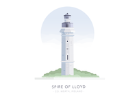 Spire of Lloyd, Kells Road, Co. Meath, Ireland
