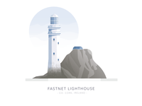 Fastnet Lighthouse, Co. Cork, Ireland