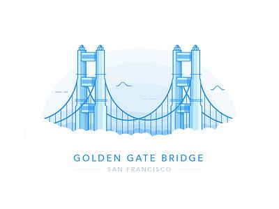 Golden Gate Bridge - San Francisco golden gate building bridge san fran san francisco golden gate bridge