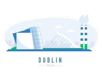 Dublin 🙌 buildings city skyline city office irish ireland dublin