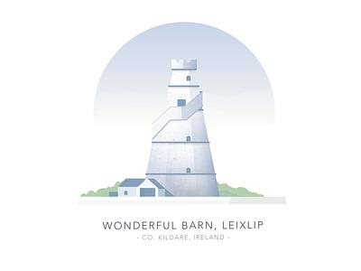 Wonderful Barn, Leixlip, Co. Kildare, Ireland irish leixlip wonderful barn folly building dublin kildare ireland