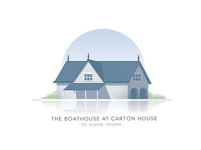 The Boathouse, Carton House, Co. Kildare building housing house boat dublin ireland irish kildare