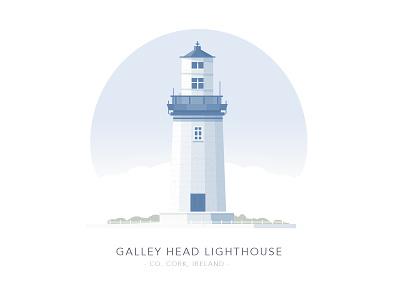 Galley Head Lighthouse, Co. Cork, Ireland irish ireland house building lighthouse