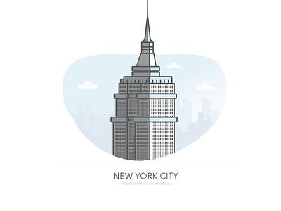 New York City building usa america empire state building ny nyc