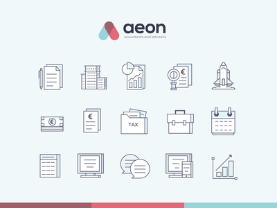 Accounting Iconography icon calculator monitor illustration graph bookkeeping accounts accounting iconography icons