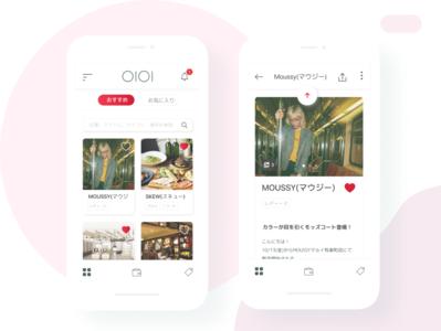 Marui OIOI Department Store App ios app design lifestyle blog lifestyle brand shopping app japanese app branding interface design ecommerce ecommerce shop japanese japaneseui uidesign ui
