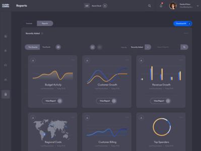 CloudConfig Reports UI