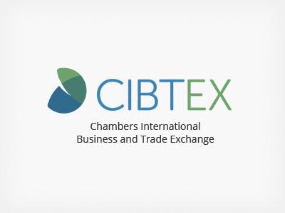 Cibtex logo logo world green blue museo sans rounded