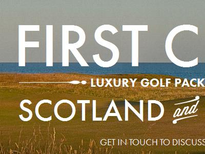 Golf tours website golfing tours futura decoration luxury photographic