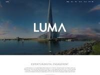 Luma homepage