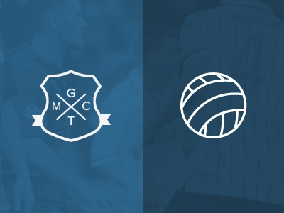Icons for football website iconography icons football sheild emblem lines badge crest illustration