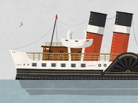 Waverley Ferry Illustration