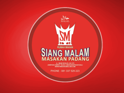 Sticker for RM Siang Malam