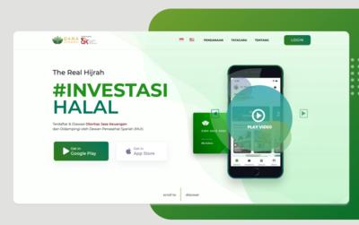 Hero Header for Dana Syariah Indonesia