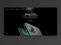 iPhone 11 Web Design