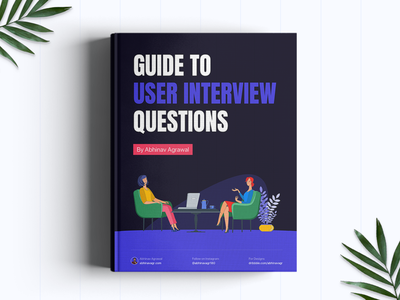 Freebie: Guide to User Interview Questions freebies typography vector illustration mockup landing page freelance research interview user interview ebook freebie ux design ui