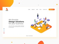 Design Agency Landing page