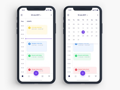 Todo app Calendar search ios people invite edit event create choose calendar todo app plan