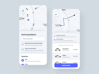 Cab Booking driving driver uber mobile car analytics map app design taxi ride sharing rideshare ux design vector landing page ui booking app ride booking cab