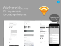 Wireframe Kit by CanvasFlip coming soon