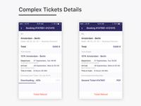 Tickets Details 🚂