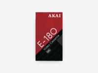 📼 Akai Video Cassette