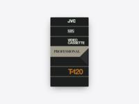📼 JVC T-120