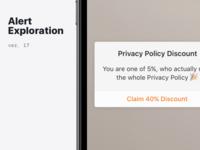 iOS Alert Style